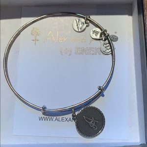 """Alex and Ani initial Letter """"A"""" Bracelet"""